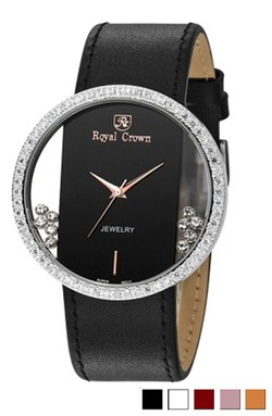 Ảnh số 61: Royal crown womens fashion watch large dial trend strap watch 611 - Giá: 1.955.000