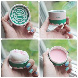 Ảnh số 8: Má hồng the face shop lovely Pastel Cushion Blusher #4 - Giá: 75.000
