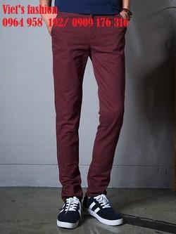Quần kaki nam ống côn, nhiều màu mới , đủ zise , phong cách hàn quốc trẻ đẹp