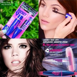 Ảnh số 2: Mascara Maybelline The Rocket Volume Express Waterproof - Giá: 165.000