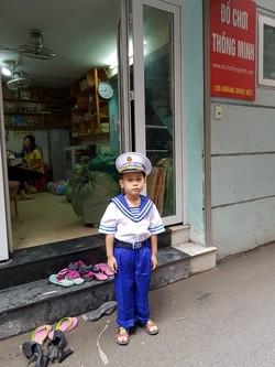 Các loại trang phục hóa trang cho các bé giá sale