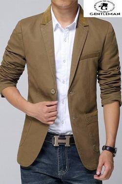 Ảnh số 11: Áo Vest nam kaki - Giá: 499.000