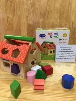 Bộ bếp gỗ tự nhiên đồ chơi cho bé yêu