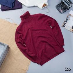 -22 Áo len nam cổ lọ hàn quốc mới về 13 mầu chuẩn hàng hàn quốc giá rẻ