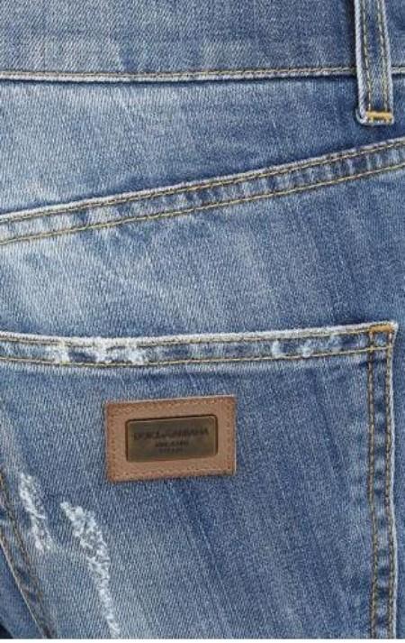 e968dca3715f Thanh lý quần jeans authentic Dolce gabbana light blue mới 90% giá yêu giá  999.000đ - Hà Nội