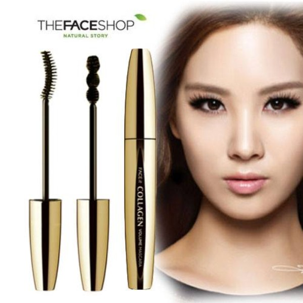 Ảnh số 25: Mascara The Face Shop - Face it collagen volume mascara - Giá: 250.000
