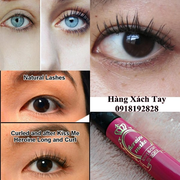Ảnh số 79: KISS ME HEROINE MAKE LONG AND CURL MASCARA - Giá: 250.000