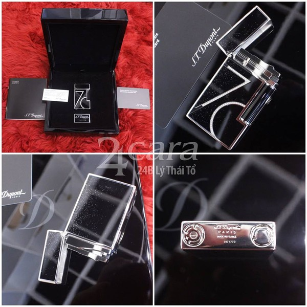 Ảnh số 7: 70TH ANNIVERSARY LINE 2 LACQUER AND PALLADIUM LIGHTER - Giá: 45.000.000