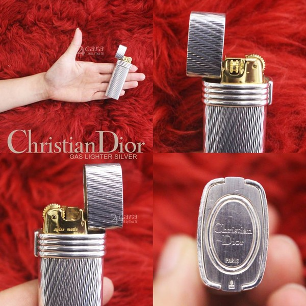 Ảnh số 21: Chirstian Dior Silver Plated Lighter - Giá: 8.000.000