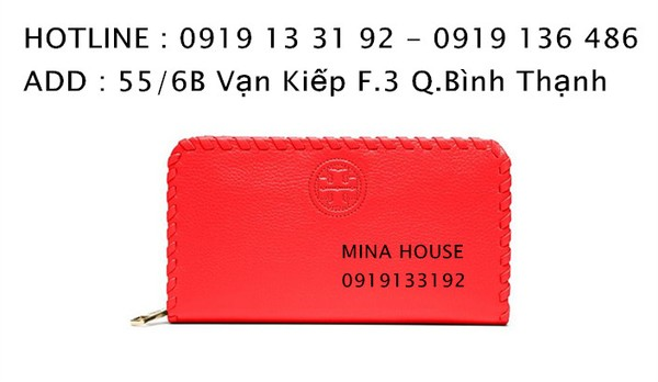 Ảnh số 10: TORY BURCH MARION MULTI-GUSSET ZIP CONTINENTAL WALLET  ( Hàng authentic NO FAKE ) - Giá: 2.400.000