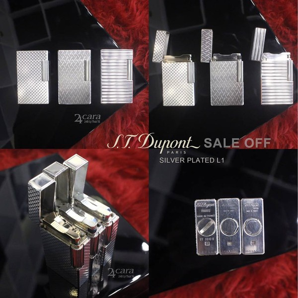Ảnh số 26: S.T. Dupont Silver Plated L1 - Giá: 3.500.000