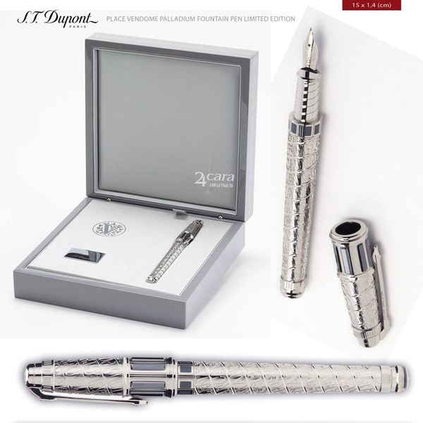 Ảnh số 37: S.T. Dupont Palladium Fountain Pen Limited Edition - Giá: 22.000.000