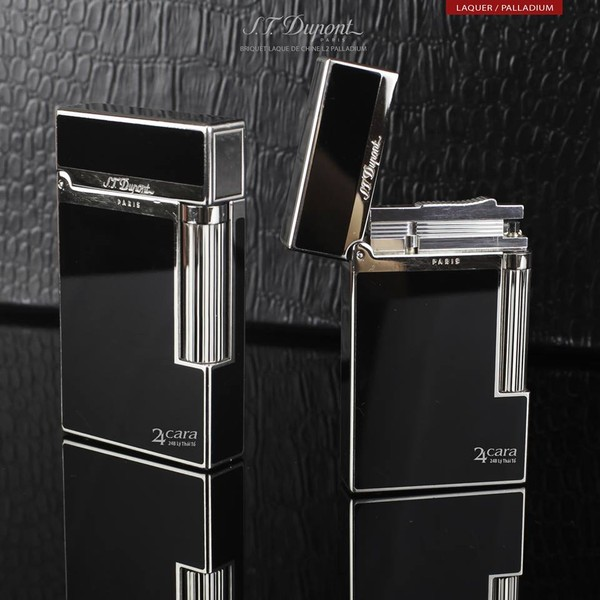 Ảnh số 48: S.T. Dupont Briquet L2 Black Chinese Lacquer And Palldium - Giá: 11.000.000