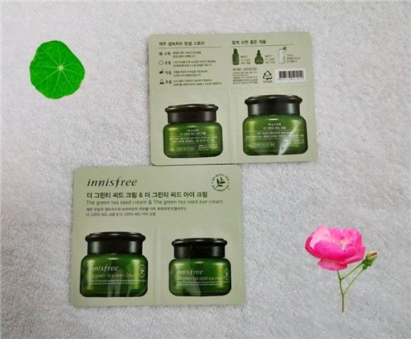 Ảnh số 25: Combo Green Tea Seed Cream & Green Tea Seed Eye Cream - Giá: 8.000