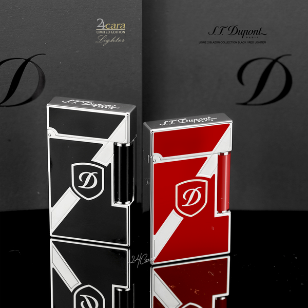 Ảnh số 66: .T. Dupont Ligne2 Blazon Collection Black / Red Laquer - Giá: 16.500.000