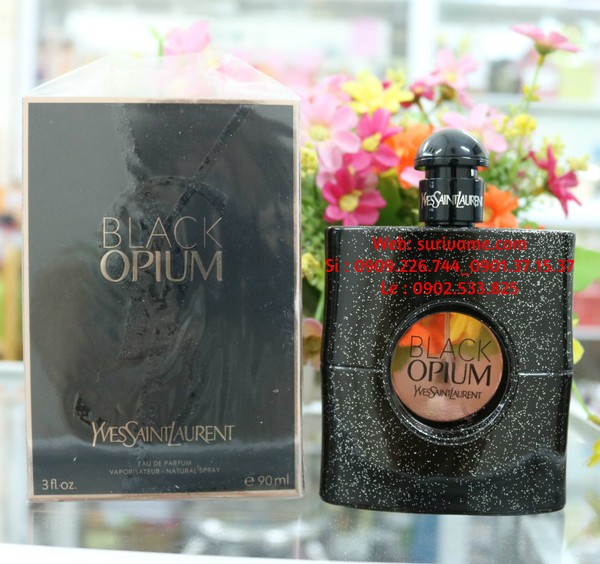 Ảnh số 82: Black Opium Yves Saint Laurent for women EDP 90 ml - Giá: 210.000
