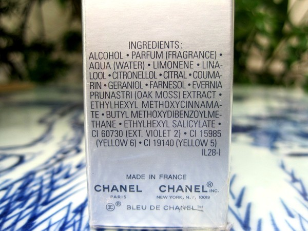 Ảnh số 89: Bleu Chanel by Chanel Paris - 3 x 20ml - Eau de Toilette - Authentic - Giá: 1.850.000