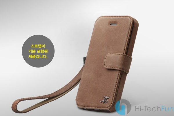 Ảnh số 4: Bao da iPhone 5S Vintage Leather Diary Collection - Giá: 150.000