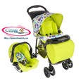 Xe đẩy Mirage Graco xanh TOY Town