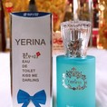 Nước hoa nam Yerina cool water kiss me darling korea 30ml