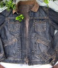 Jacket da Hi Buxter, made in Poland, new 100%, size L, Jacket denim Zara hai lớp, authentic genuine size M