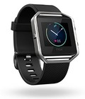 Hình ảnh: Fitbit Blaze Smart Fitness Watch, Black, Silver, Large