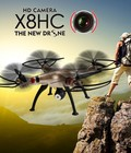 Hình ảnh: X8HC 2.4GHz 4 Channels 6 Axis Gyro Headless With 2MP HD Camera Altitude Hold RC Quadcopter RTF