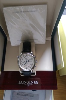 Longines collection master RETROGRAD L2.715.4 - automatic size 41mm - full box