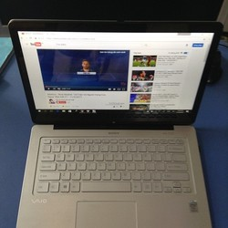 Laptop Sony Vaio SVF14N16SGS - Silver