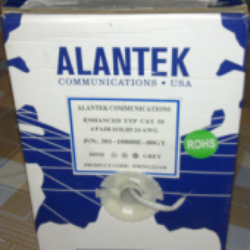 cáp alantek cat5e UTP, 4 pair
