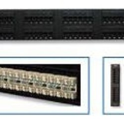 patch panel cat5e AMP