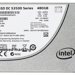 Ổ cứng Intel SSD DC S3500 Series 480GB for Server