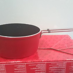 Quánh Fissler Luno Red Limited 18 cm made in Germany