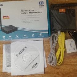 Router wifi D link 01 ăng ten