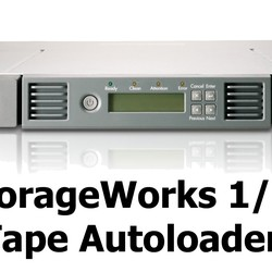 HPE StoreEver 1/8 G2 LTO6 Ultrium 6250 FC Tape Autoloader