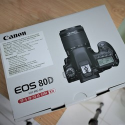 Canon EOS 80D Kit 18 55 stm mới 100% nguyên seal