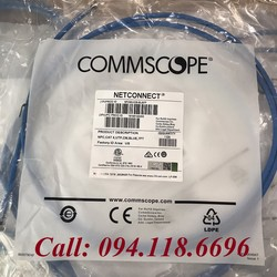 Dây nhảy Patch Cord CommScope Cat6 2m 7feet Blue