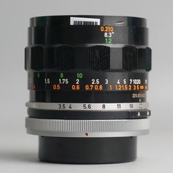 Canon 50mm f3.5 FL FD MF Macro 1:2 50 3.5 16527
