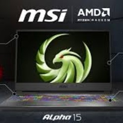 MSI Alpha 15 A3DDK 004us New 2020 AMD Ryzen 7 2nd Gen 3750H : Gaming Laptop