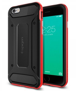 Spigen iPhone 6S Plus Case Neo Hybrid Carbon Dante Red SGP11668
