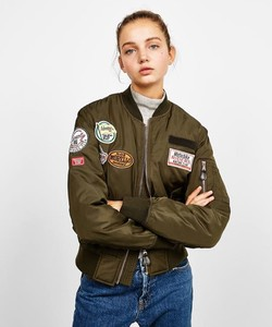 BSK Patch Bomber Jacket