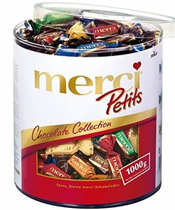 Sô cô la Merci Petis Chocolate Collection 1000g
