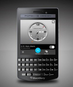 Blackberry porsche design P 9983