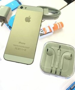 IPhone 5S Lock Gold full phụ kiện