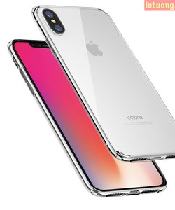 Ốp lưng Iphone X Iphone 10 Rock Crystal Clear trong suốt viền mềm