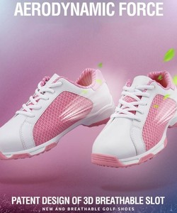 Giày golf nữ PGM women air permeable golf shoes XZ091