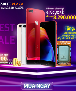 Iphone 8plus giá sale cực sock tại tabletplaza