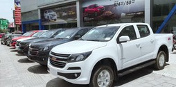 Xe Chevrolet Colorado LT 2.5L 4x4 MT 2018.