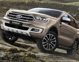 Ford Everest trend.