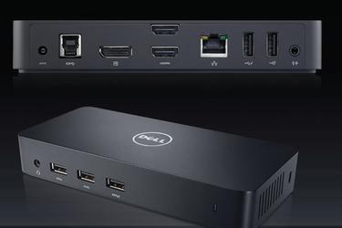 Dell Docking Ultra HD Triple D3100 Đế kết nối Dell D3100